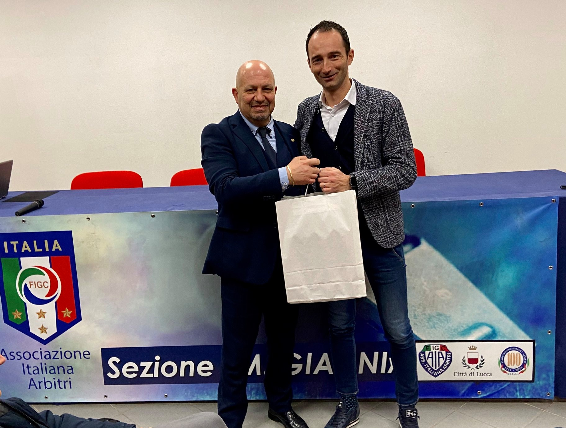 L'Assistente Giorgio Peretti ospite della Sezione di Lucca!