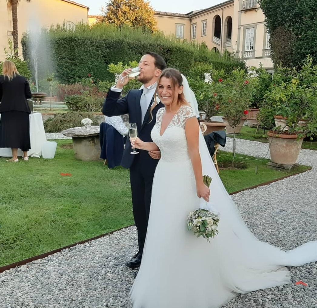 Michele Baschieri e Federica Scafa convolati a nozze!