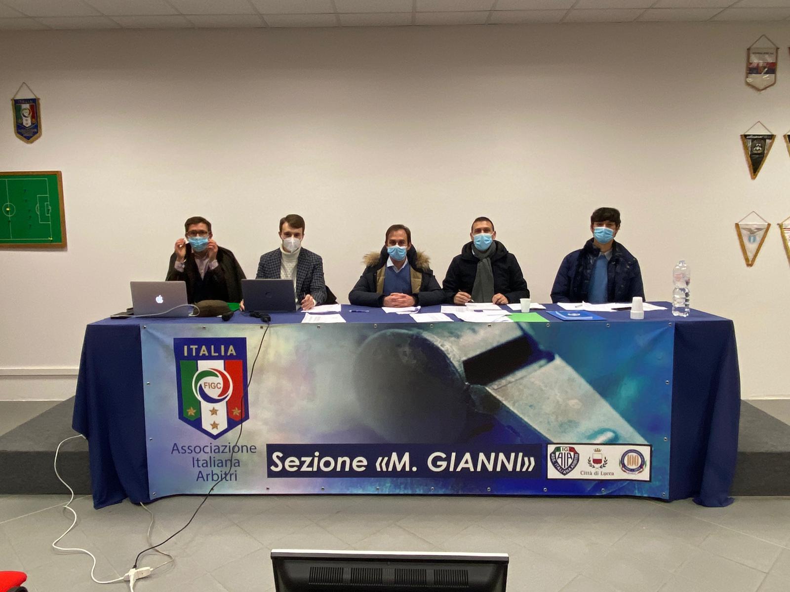 Antonio Ruffo confermato Presidente della Sezione AIA di Lucca