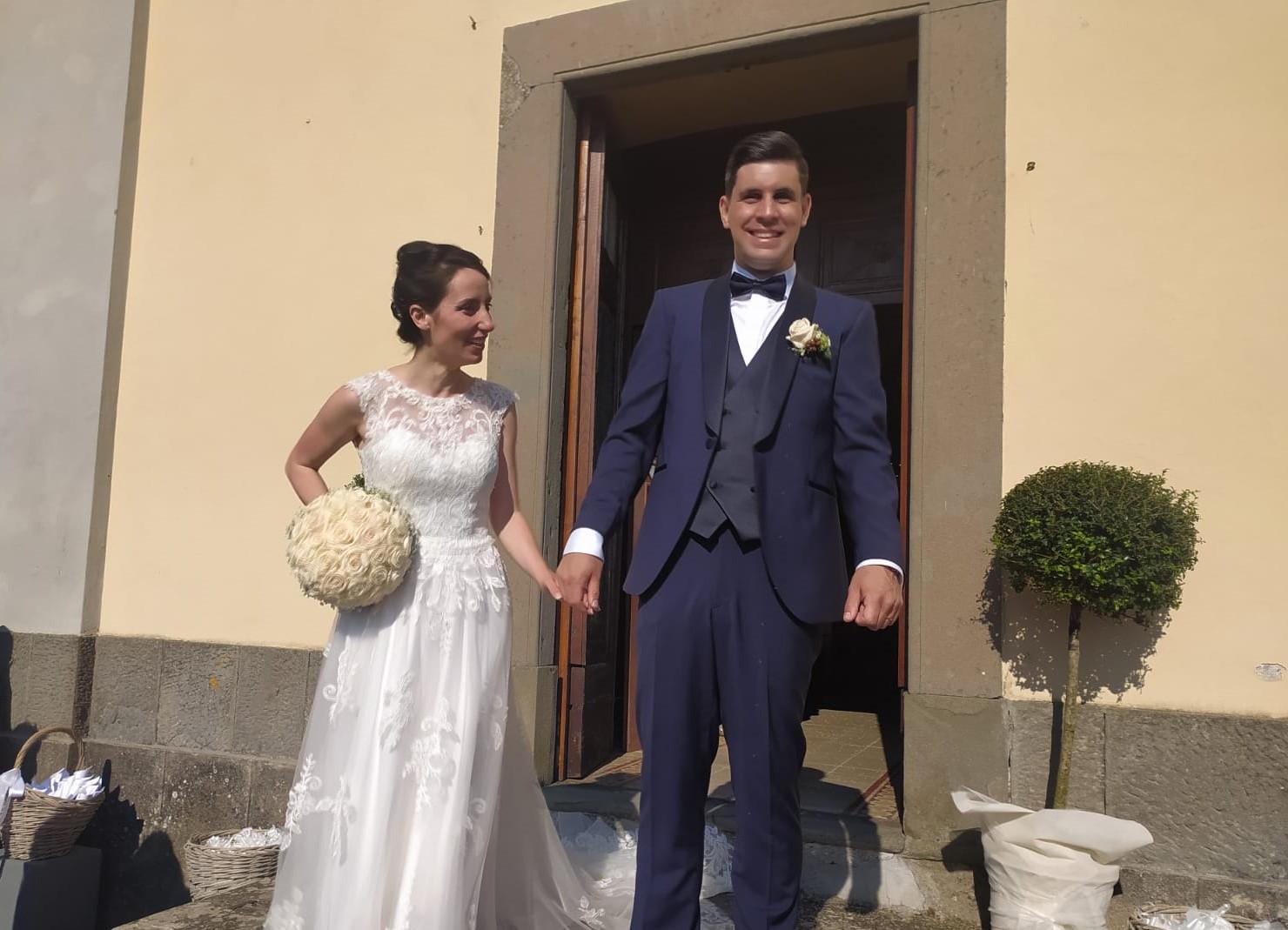 Il matrimonio del nostro Andrea Favilla